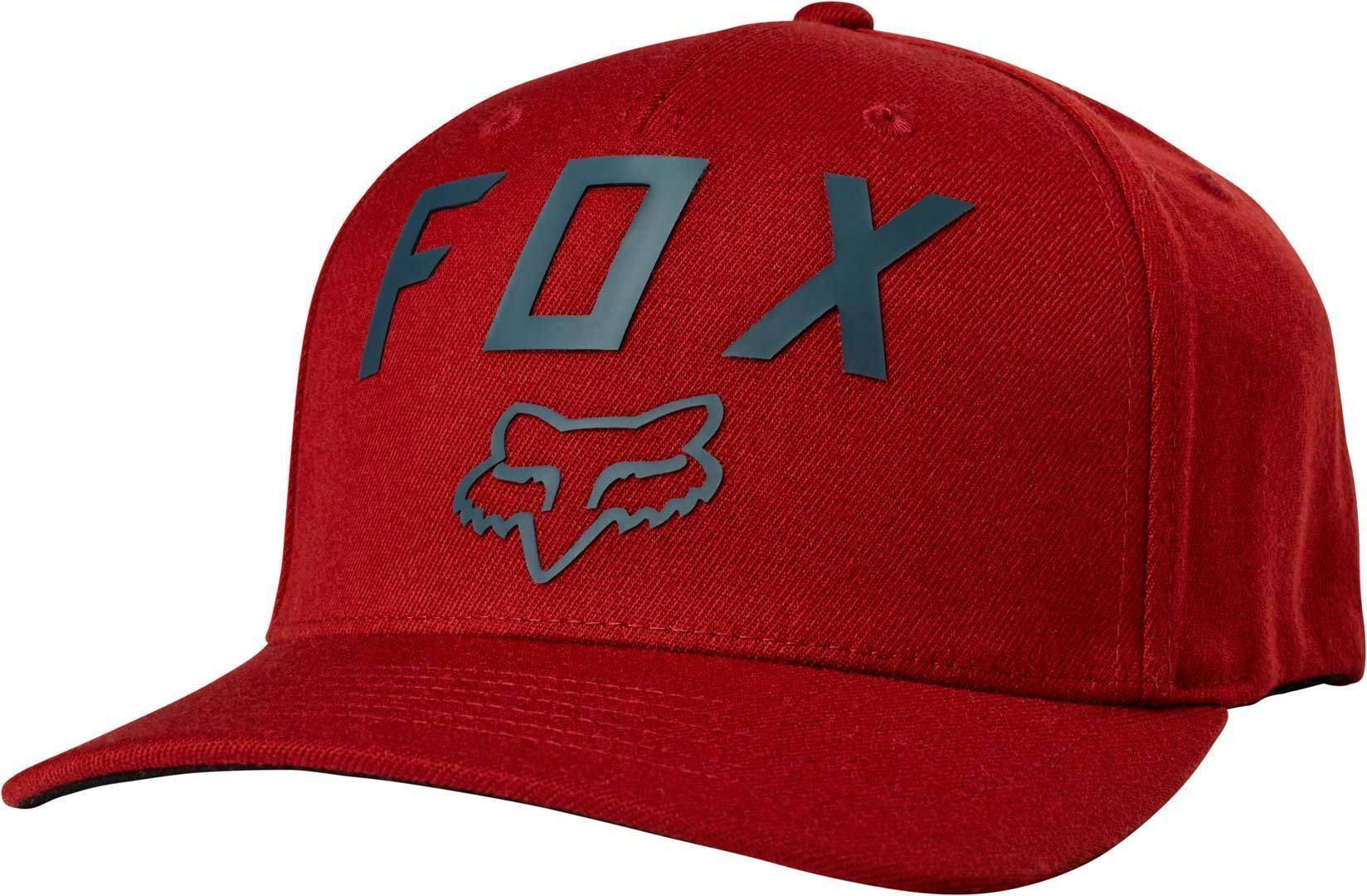 FOX Number 2 Flexfit Chapeau Rouge S M