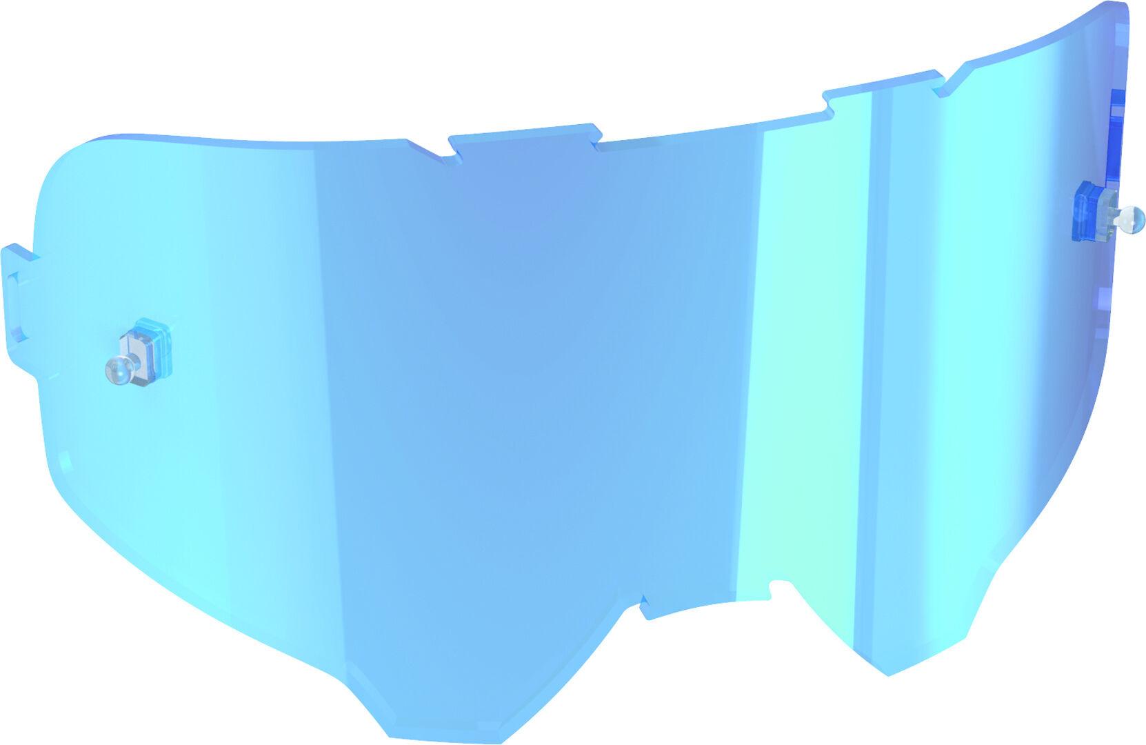 Leatt Velocity Lentille de remplacement Bleu unique taille