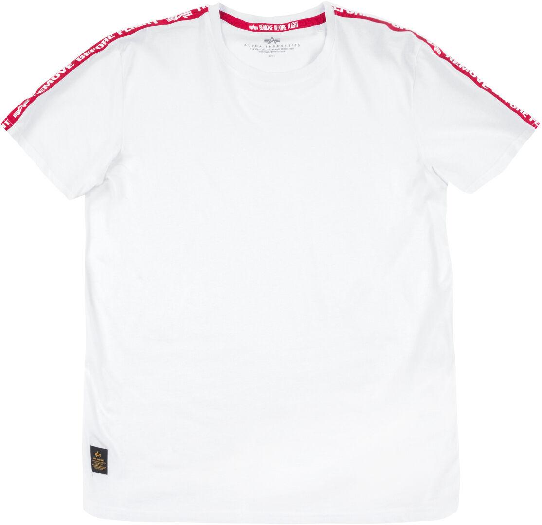 Alpha Industries RBF Tape T-Shirt Blanc 2XL