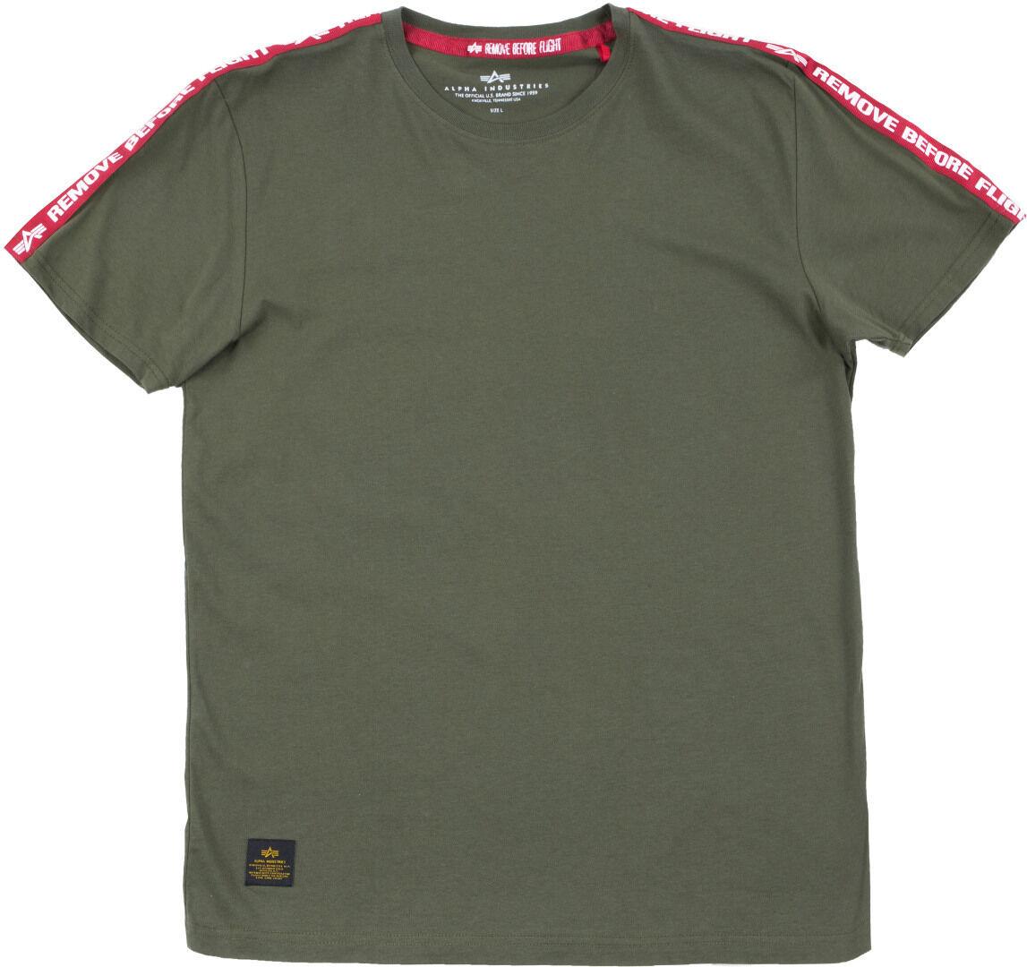 Alpha Industries RBF Tape T-Shirt Vert 2XL