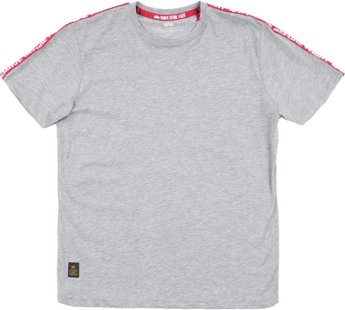 Alpha Industries RBF Tape T-Shirt Gris M