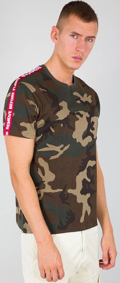 Alpha Industries RBF Tape T-Shirt Multicolore S