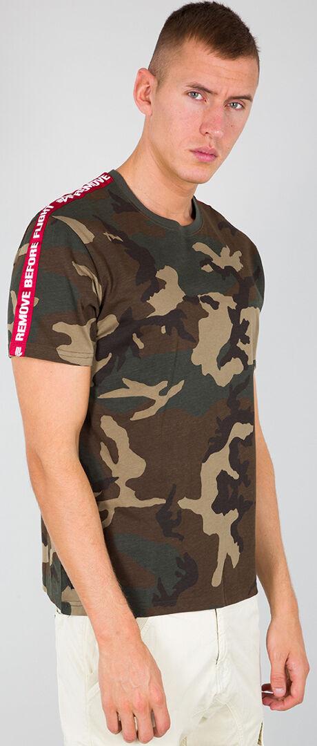 Alpha Industries RBF Tape T-Shirt Multicolore L