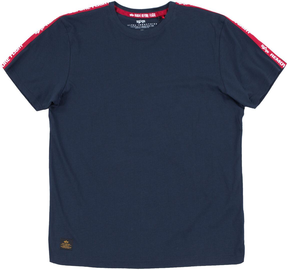 Alpha Industries RBF Tape T-Shirt Bleu 3XL