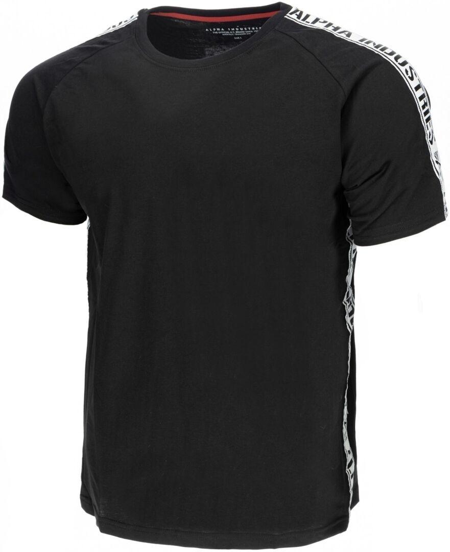 Alpha Industries Al Tape T-Shirt Noir 3XL