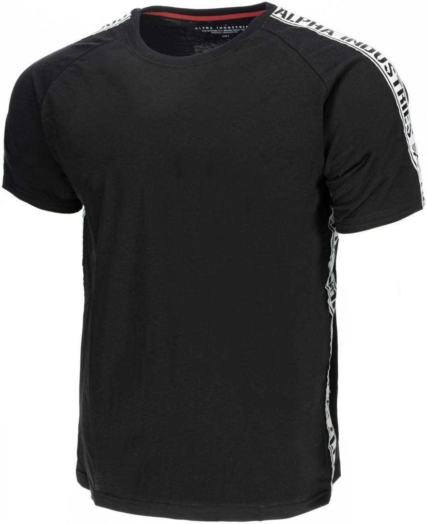 Alpha Industries Al Tape T-Shirt Noir 2XL