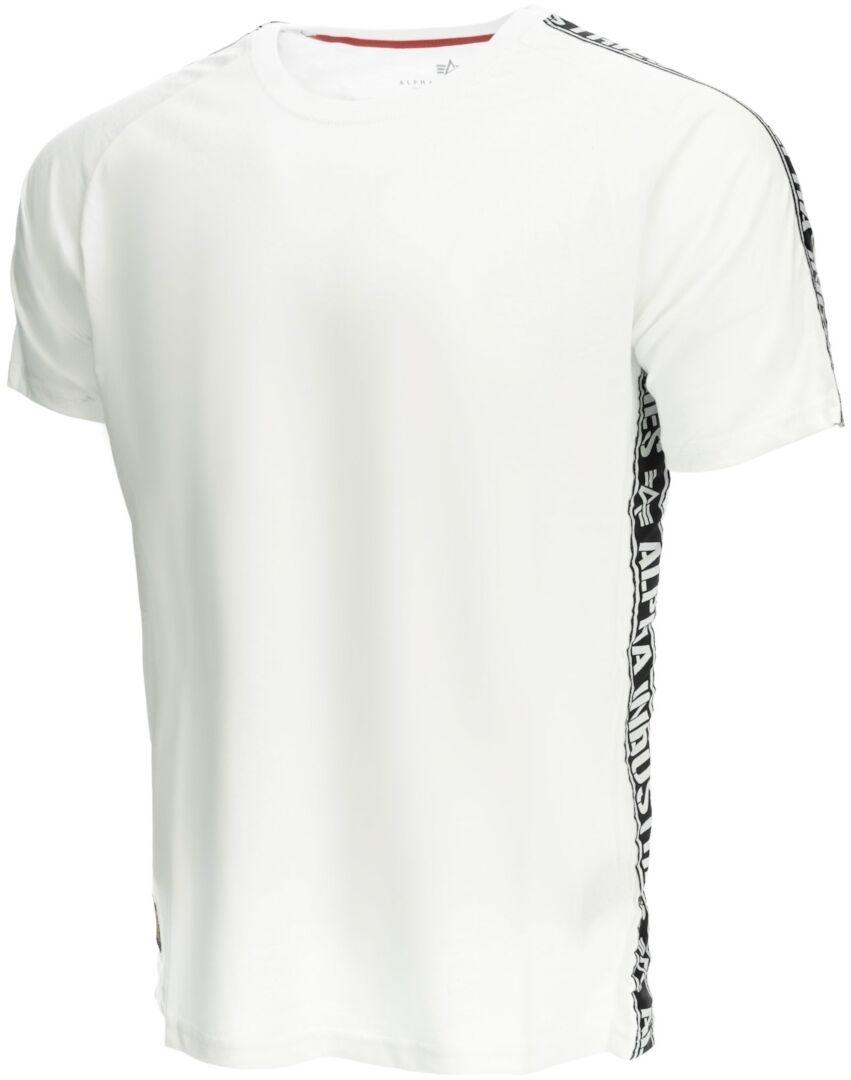 Alpha Industries Al Tape T-Shirt Blanc L