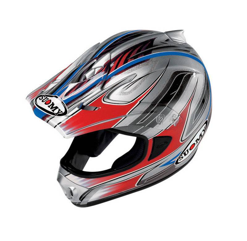 Suomy Cross Spectre Casque Motocross Rouge XL