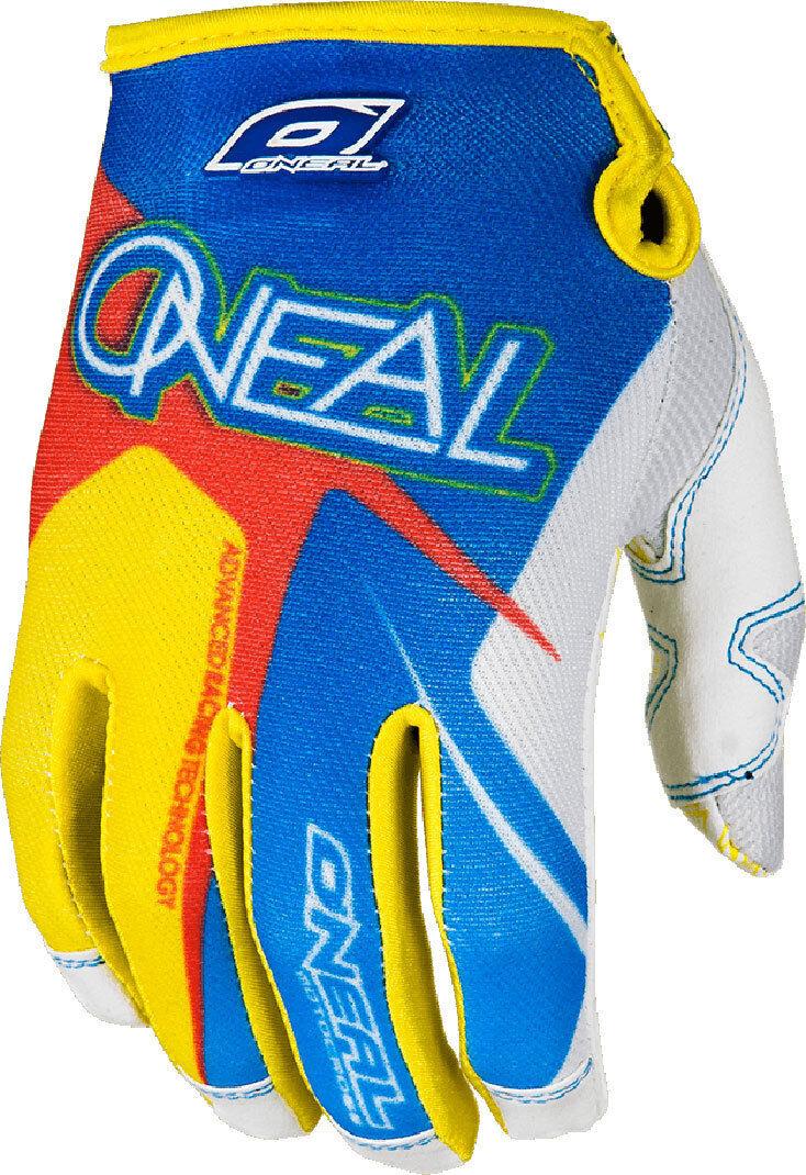 Oneal O´Neal Jump Race Gants de 2014 Bleu Jaune taille : XL