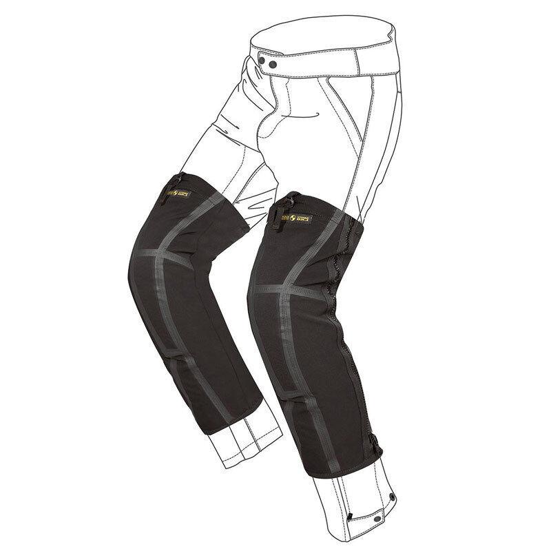 Spidi Snug Protecteur de genou Noir taille : L