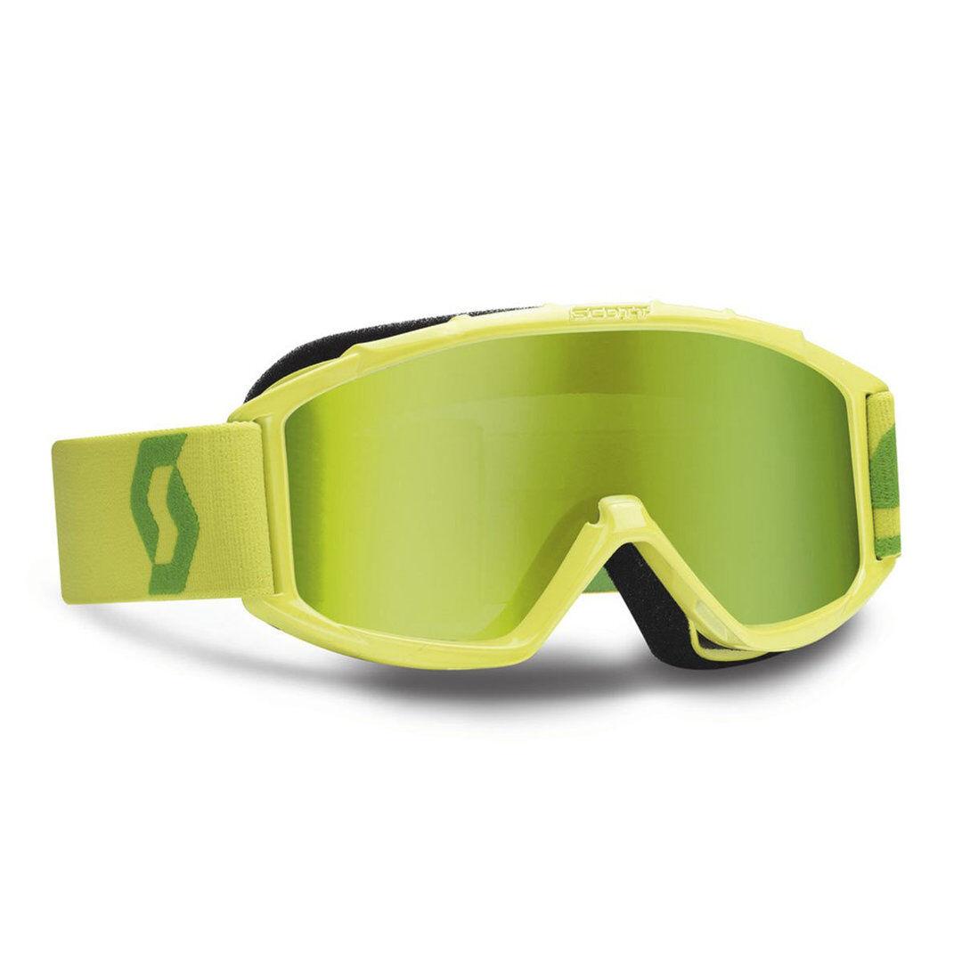 SCOTT 89Si Pro Chrome Works Enfants MX lunettes vert Jaune taille : unique taille
