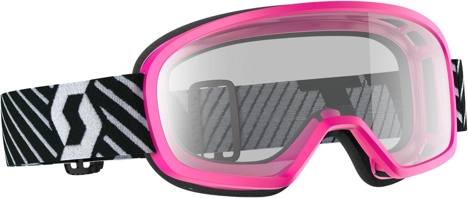 Scott Buzz Masques de Motocross enfants Rose taille :