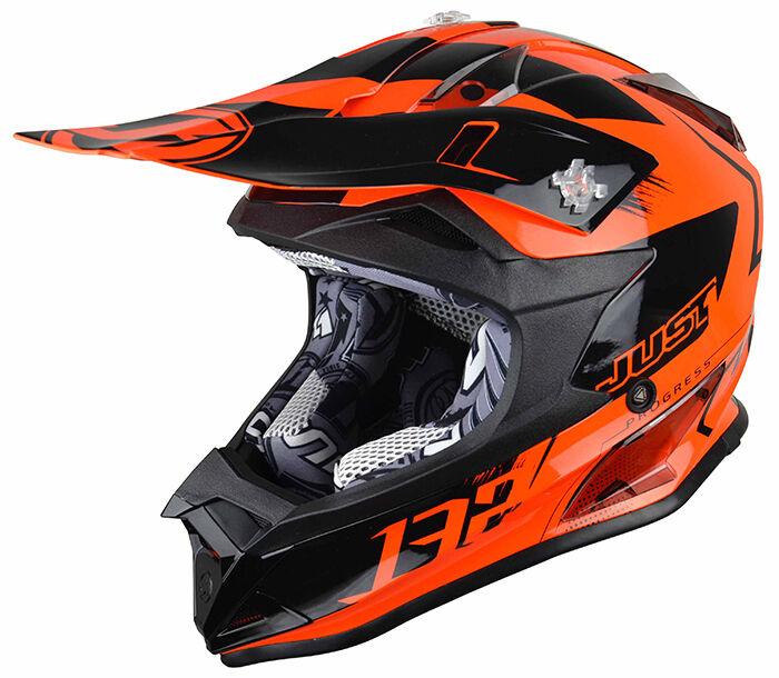 Just1 J32 Pro Kick Casque enfants Orange taille : M