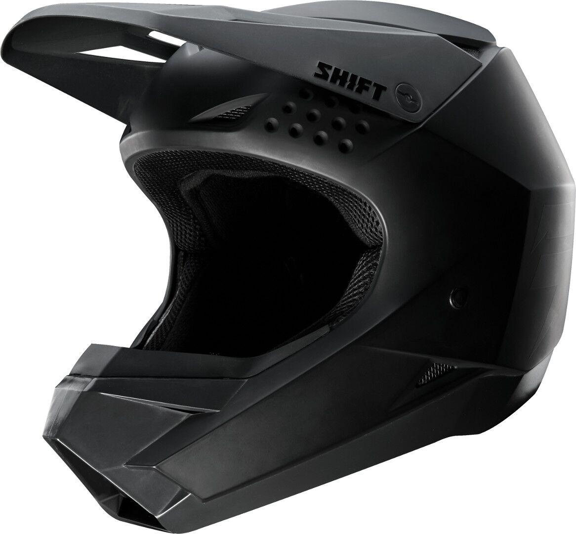 Shift WHIT3 Casque de Motocross enfants Noir taille : S