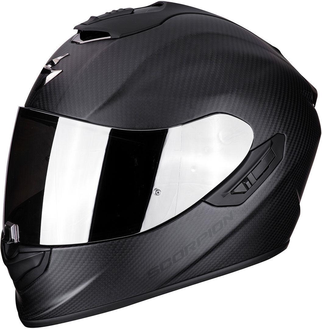 Scorpion EXO 1400 Air Carbon Casque noir mat Charbon taille : L