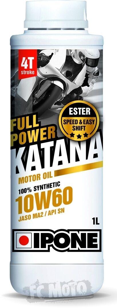IPONE Full Power Katana 10W-60 Huile moteur 1 litre taille :