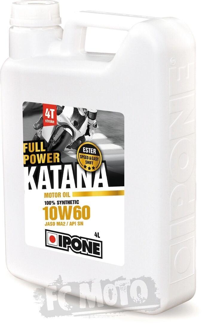 IPONE Full Power Katana 10W-60 Huile à moteur 4 litres taille :