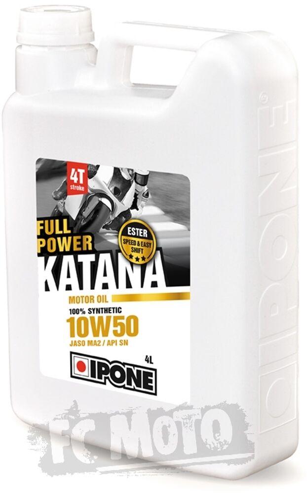 IPONE Full Power Katana 10W-50 Huile à moteur 4 litres taille :