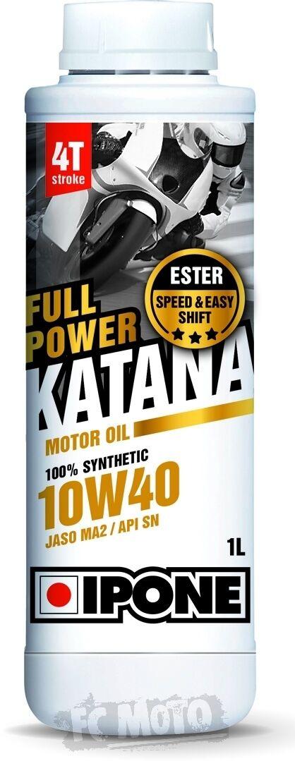 IPONE Full Power Katana 10W-40 Huile moteur 1 litre taille :