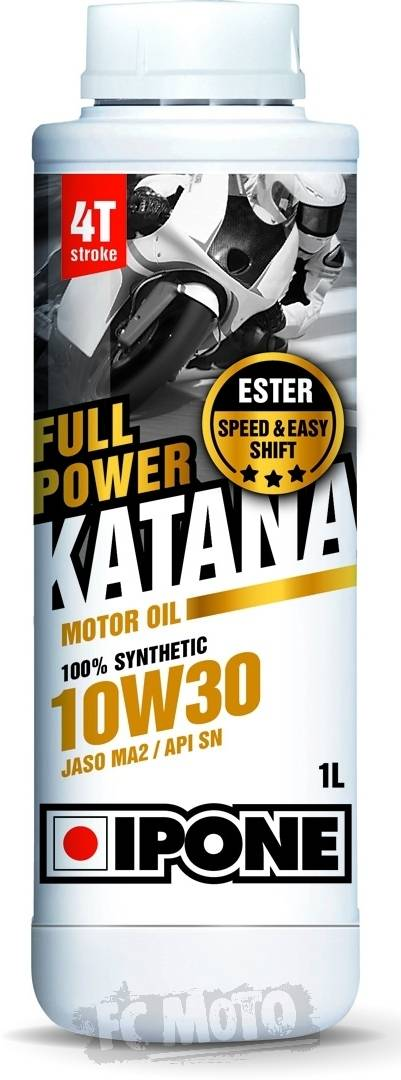 IPONE Full Power Katana 10W-30 Huile moteur 1 litre taille :