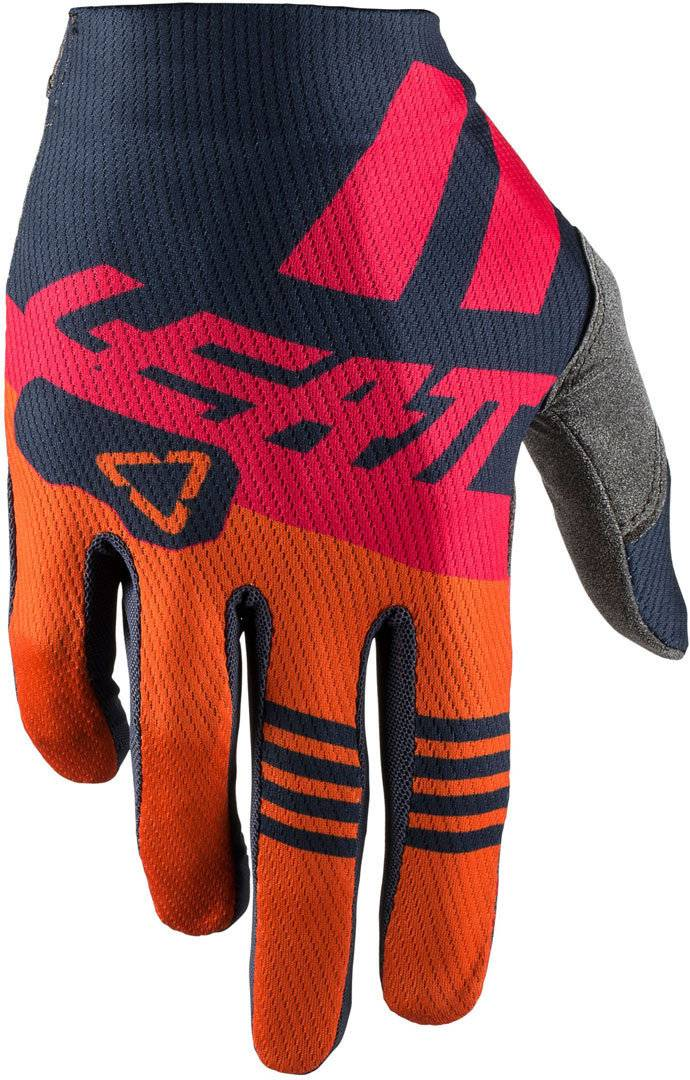 Leatt GPX 1.5 GripR Ink Gants de motocross Bleu Orange taille : XL