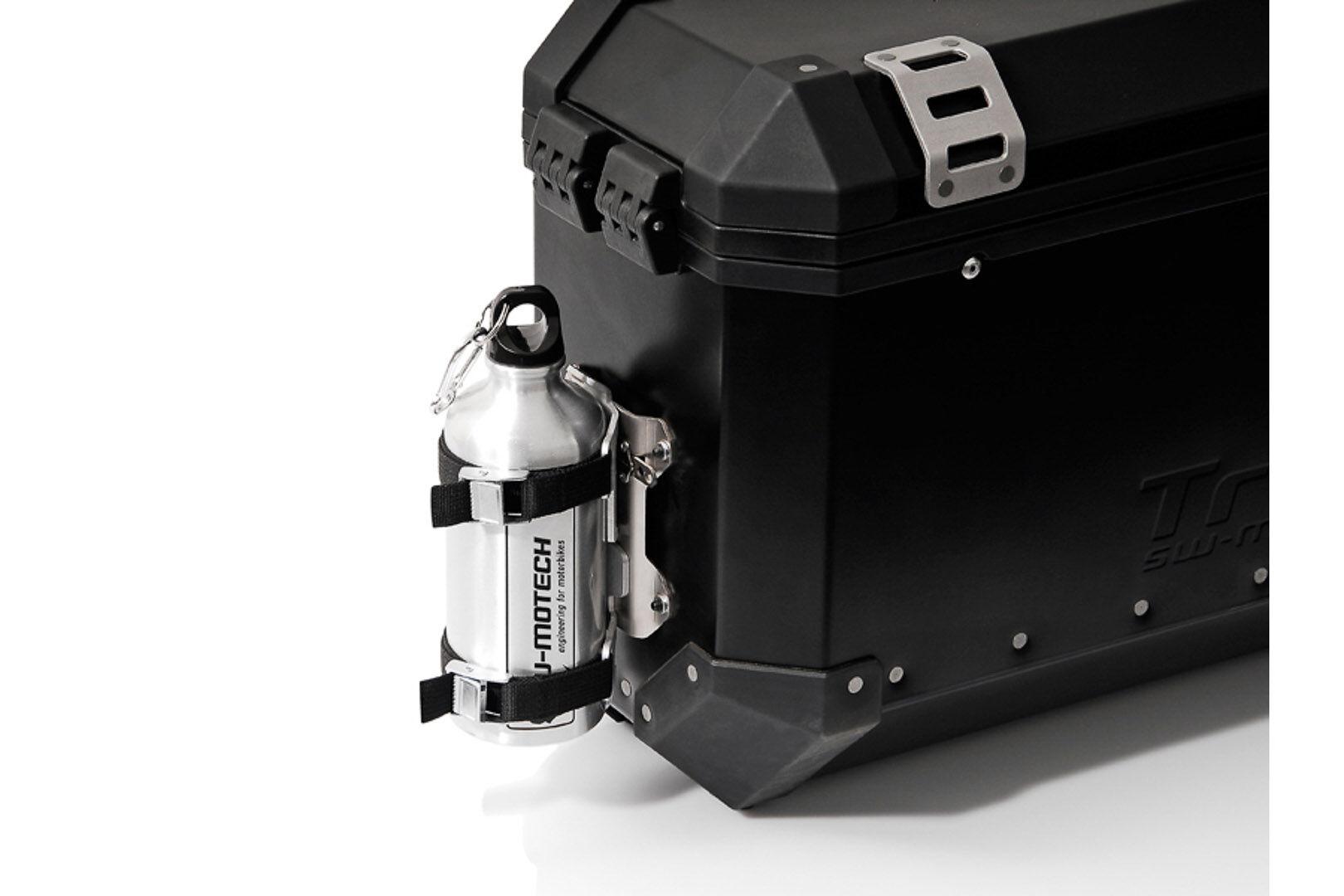 SW-Motech TRAX kit 1 gourde avec support mâle - Gourde 0,6 l en acier Inox. Avec support mâle. taille :