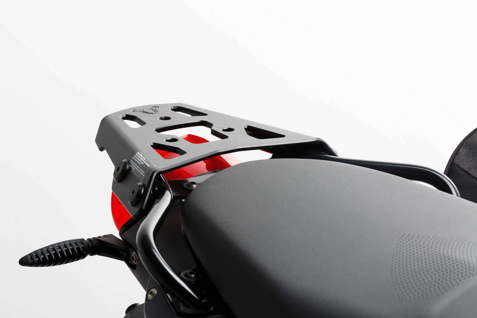 SW-Motech Porte-bagages ALU-RACK - Noir. BMW F 800 S / ST / R / GT. Noir taille :