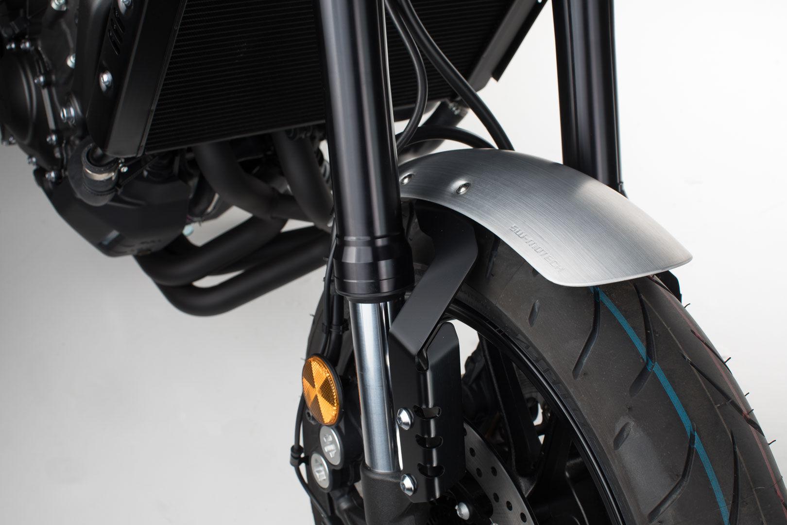 SW-Motech Kit de garde-boue - Gris. Yamaha XSR900 (15-), MT-09/ Tracer (13-). Argent taille :