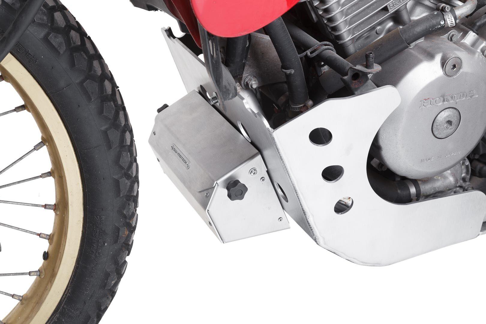 SW-Motech Sabot moteur - Gris. Honda XL 600 V Transalp (87-99). Argent taille : unique taille