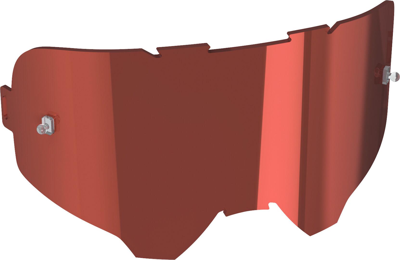 Leatt Velocity Lentille de remplacement Rouge taille : unique taille