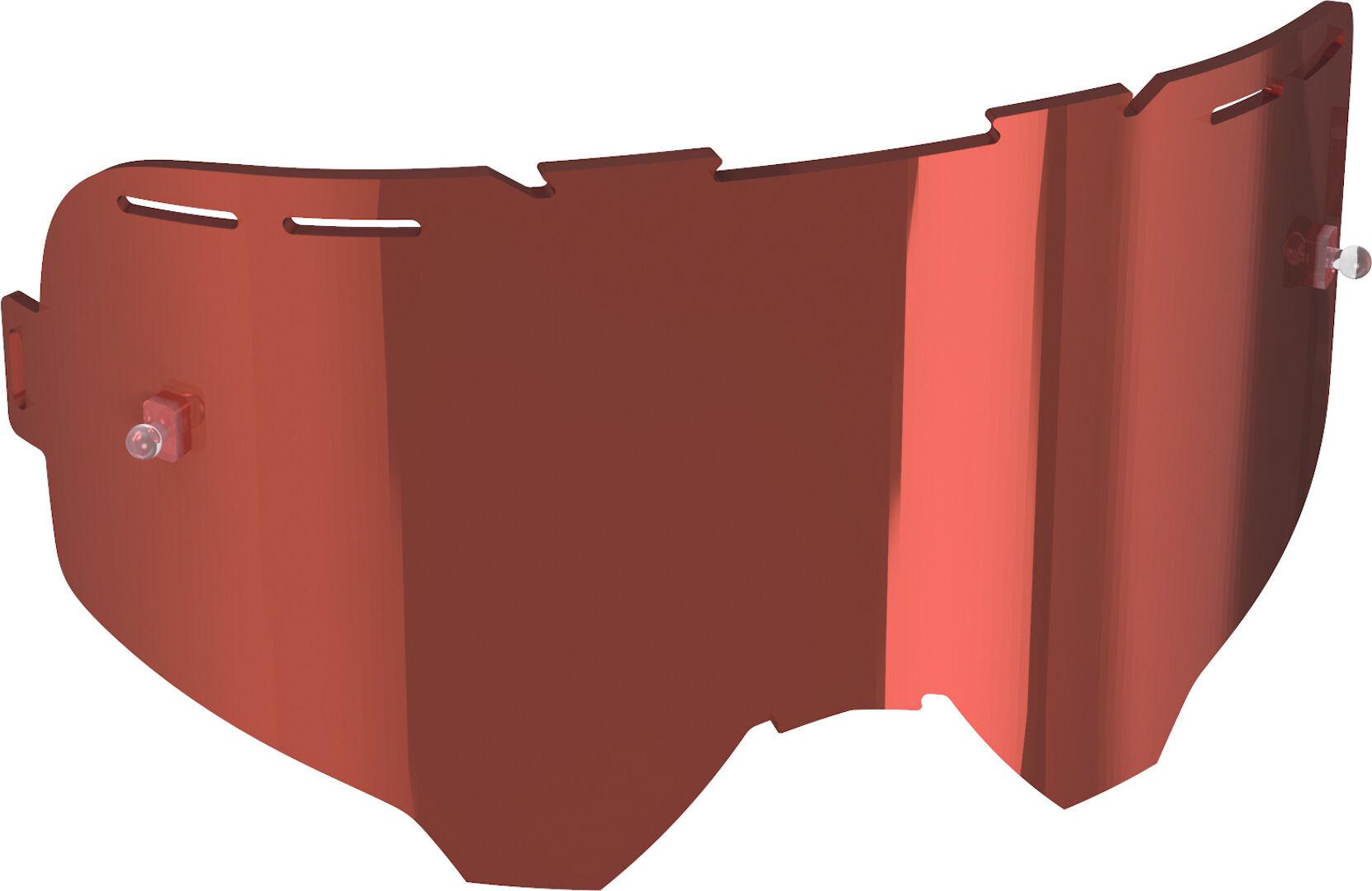 Leatt Velocity Enduro Jonny Walker Lentille de remplacement Rouge taille : unique taille