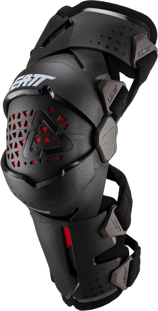 Leatt Z-Frame Junior Enfants Motocross Knee Protectors Noir taille : unique taille