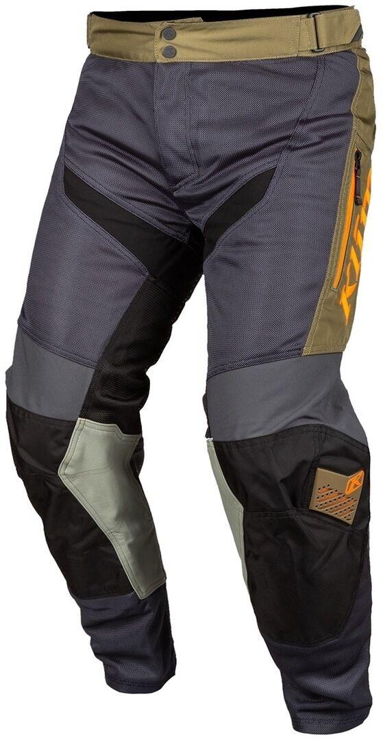 Klim Mojave in the Boot Pantalon Motocross Gris Vert taille : 30