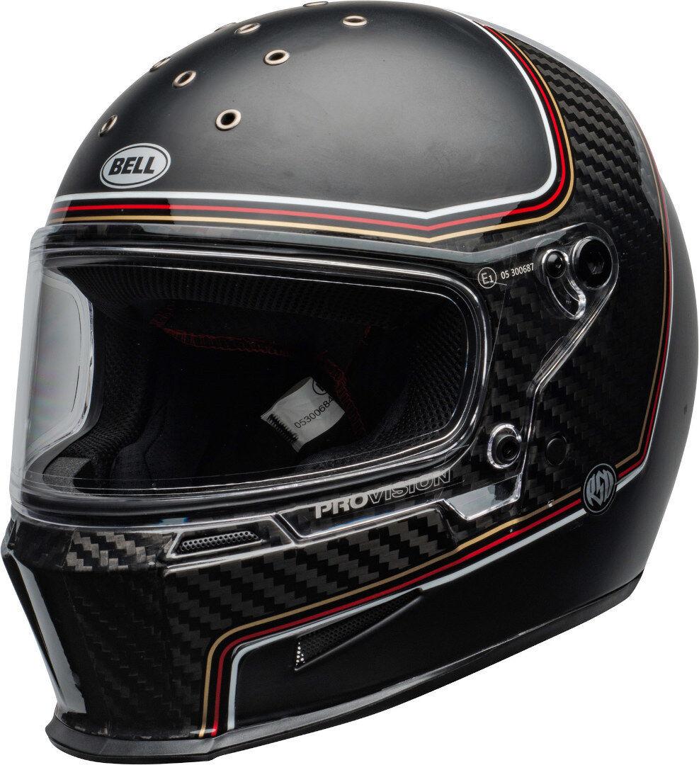Bell Eliminator Carbon RSD The Charge Casque Noir Charbon taille : L