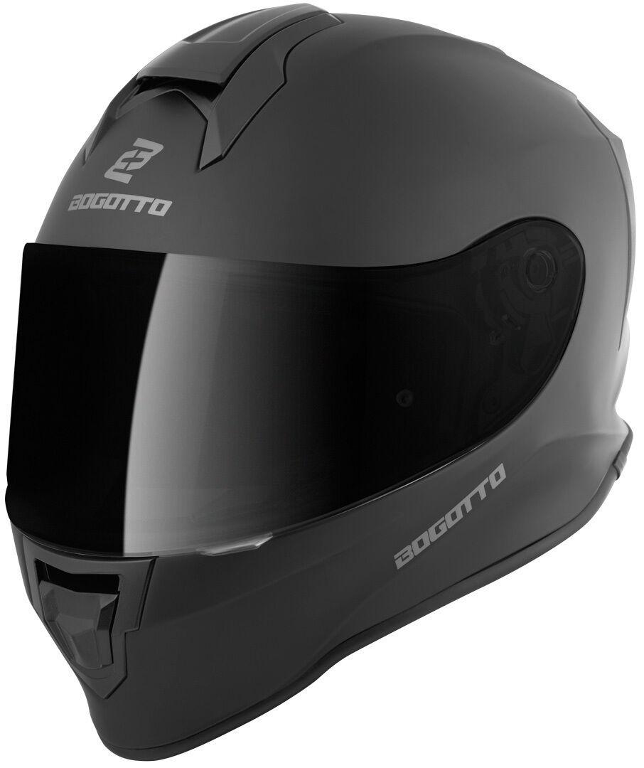 Bogotto V151 Solid Casque pour enfants Noir taille : L