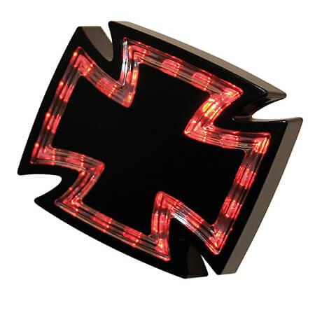 HIGHSIDER LED feu arrière GOTHIC Noir taille :