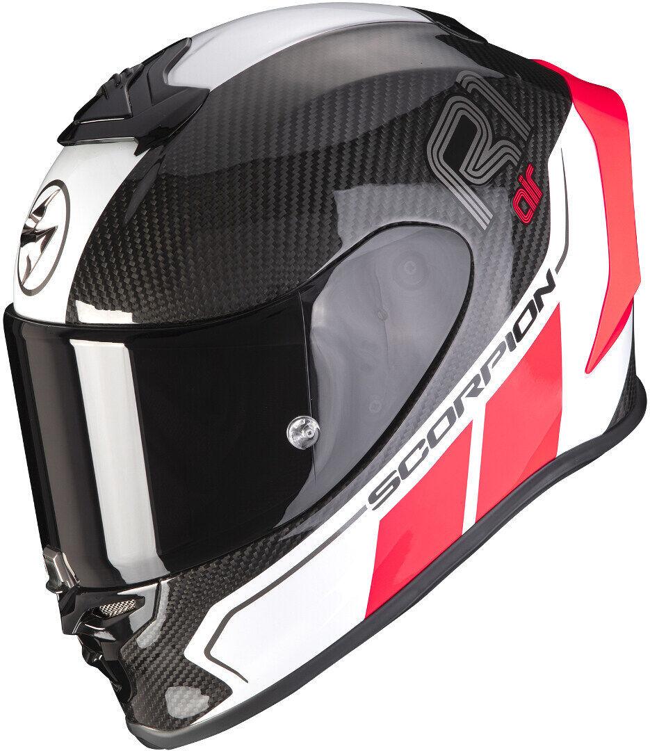 Scorpion EXO-R1 Carbon Air Corpus II Casque Noir Rouge taille : XS