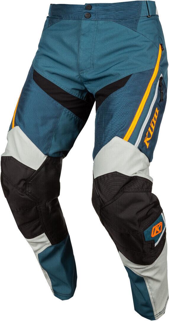 Klim Dakar In The Boots Pantalon Motocross Vert Orange taille : 32