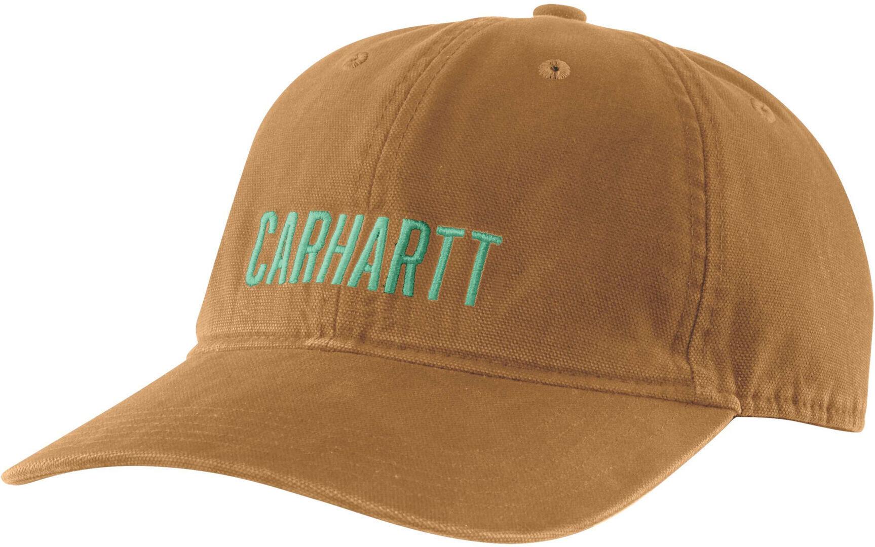 Carhartt Odessa Graphic Cap Brun taille : unique taille