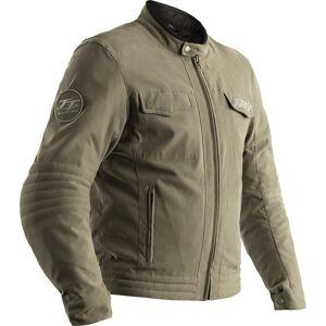 RST IOM TT Crosby Motorcycle Textile Jacket Veste textile moto Vert taille : 50 - Publicité