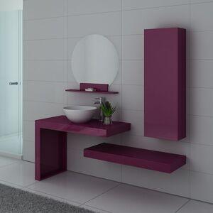 Distribain Meubles salle de bain MONZA Aubergine - Publicité