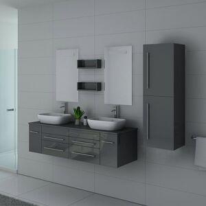 Distribain Meubles salle de bain DIS748GT Gris Taupe - Publicité