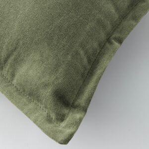 Kave Home - Housse de coussin Lisette 30 x 50 cm vert - Publicité