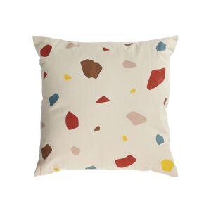 Kave Home - Housse de coussin Nerta 100% coton multicolore 45 x 45 cm - Publicité