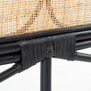 Kave Home - Tête de lit Lalita 170 x 120 cm noir - Publicité