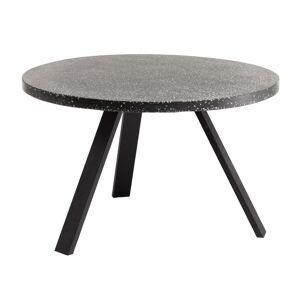Kave Home - Table Shanelle Ø 120 cm noir - Publicité