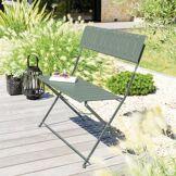 Hespéride Banc de jardin Nasca Vert sauge