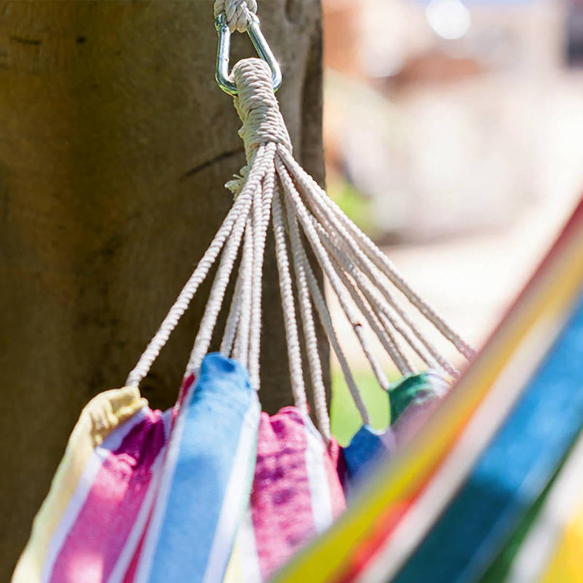 Hespéride Kit de fixation en corde pour hamac Jardin