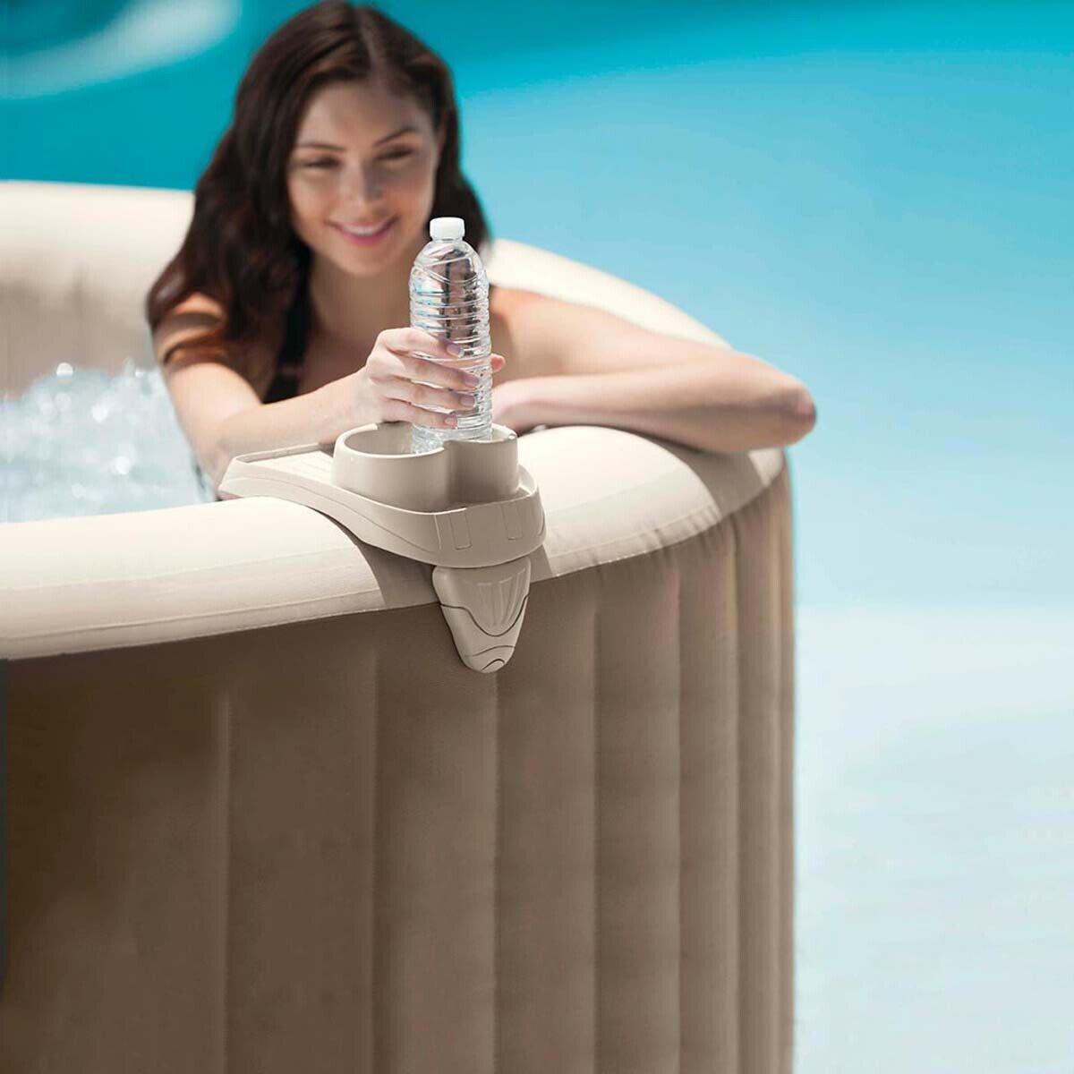 Intex Porte-gobelet pour spa Jardin Accessoire spa gonfable
