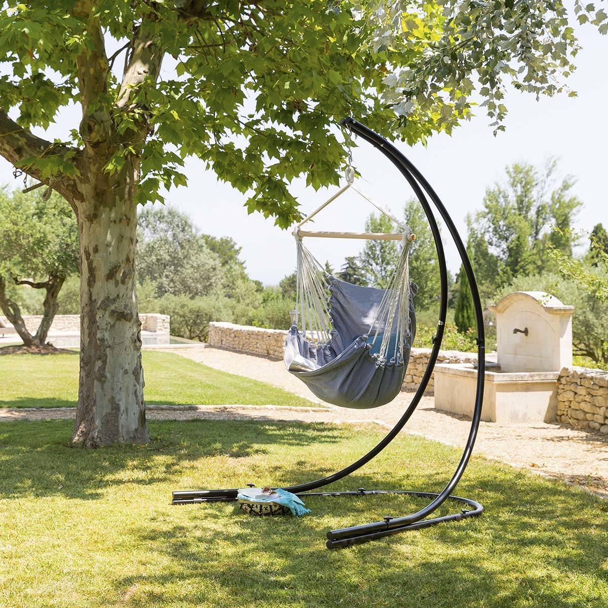 Hespéride Chaise de détente suspendue Cuenca Perle Jardin